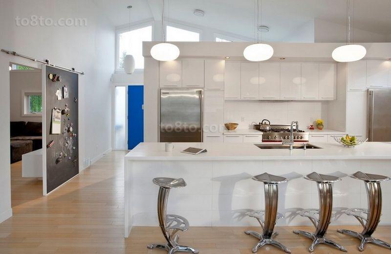 70平米小户型简约厨房装修效果图大全2014图片