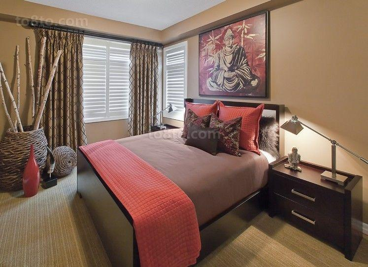 美式三室两厅装修效果图大全2014图片