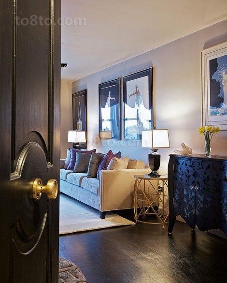 20万打造奢华欧式客厅装修效果图