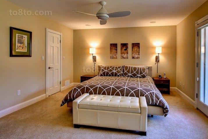 40万打造后现代卧室装修风格大全2014图片