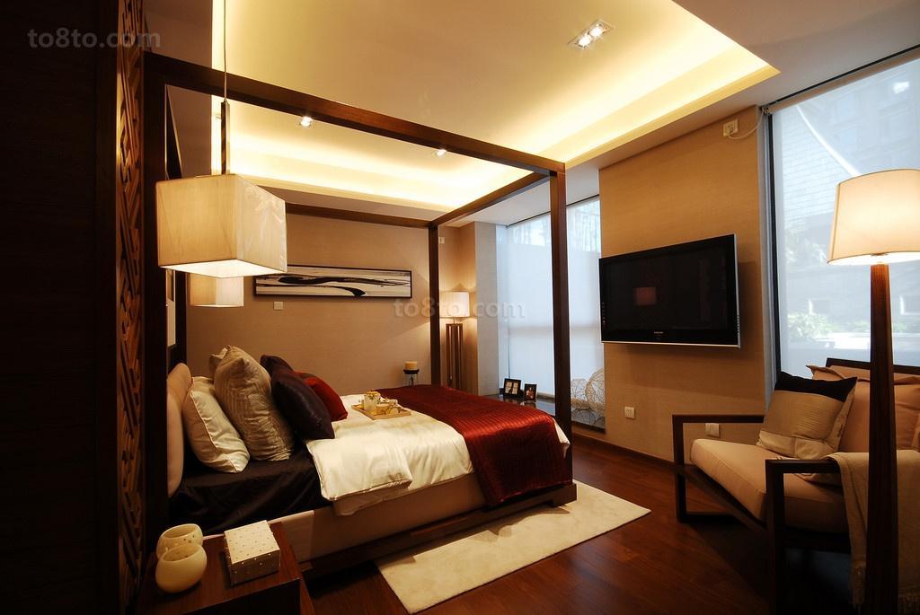 21万打造现代风格卧室装修效果图大全2014图片