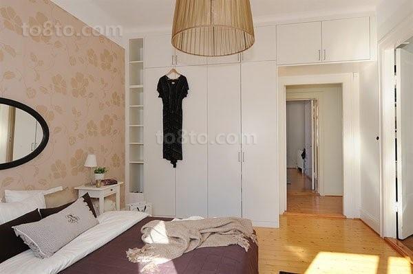 79平米小清新卧室装修效果图大全2014图片