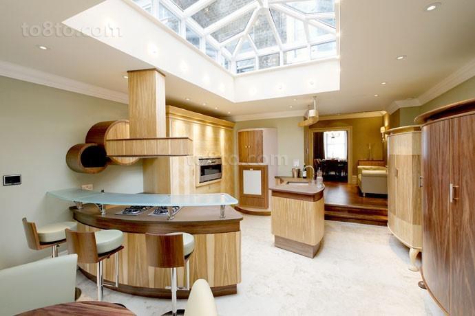 三室两厅欧式温馨的厨房装修效果图大全2014图片