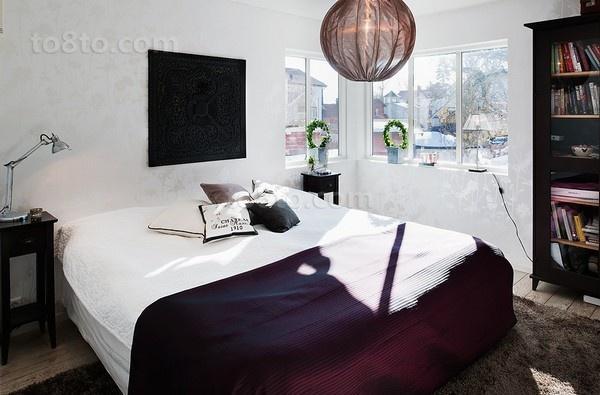145平米复式楼装修效果图 简约清新的卧室