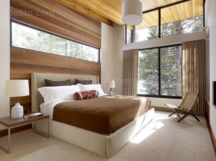 欧式乡村风味的三居室卧室装修效果图大全2014图片