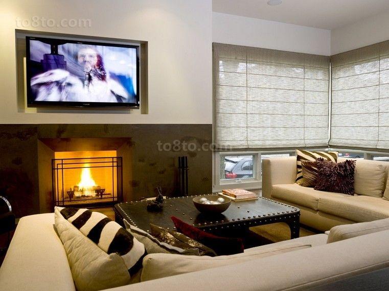 欧式温情的客厅装修效果图大全20142图片