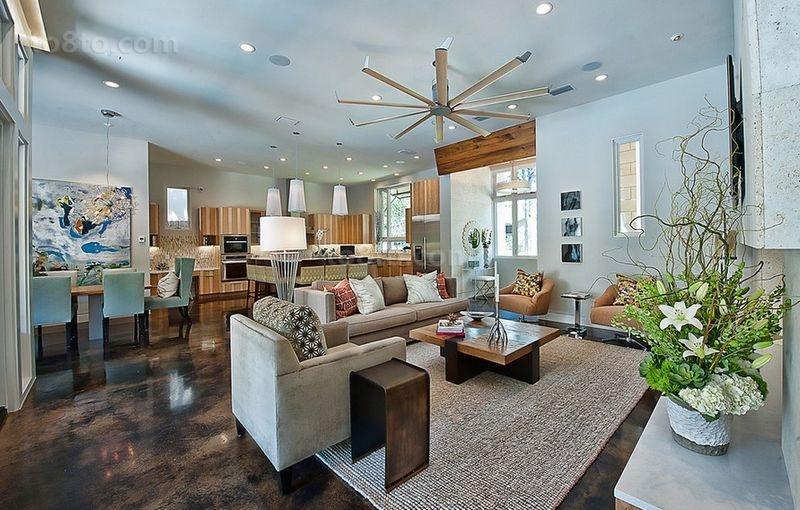 温馨宜人的小户型客厅装修效果图大全2014图片