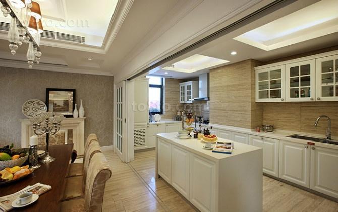 79平米小户型厨房装修效果图大全2014图片