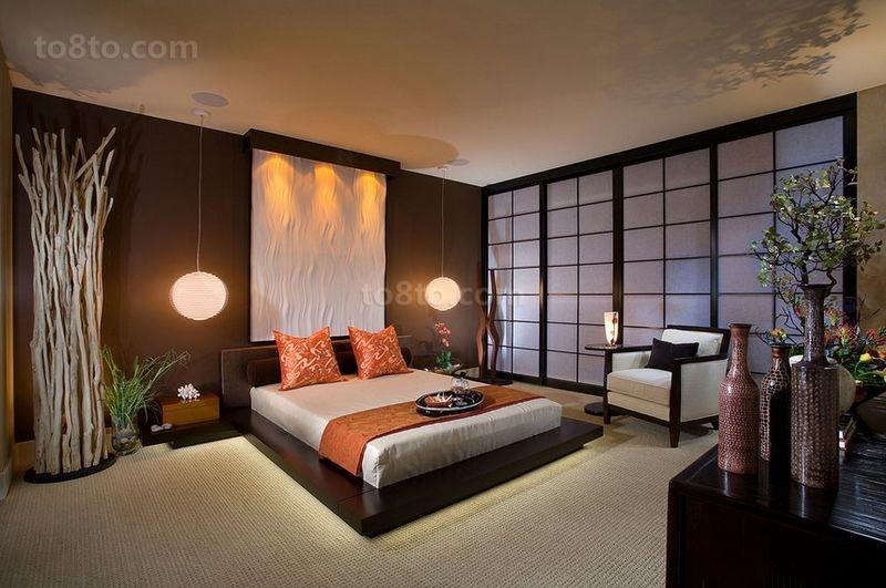 50平米小户型现代时尚的卧室装修效果图大全2014