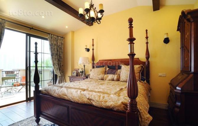 英伦风格卧室装修效果图欣赏