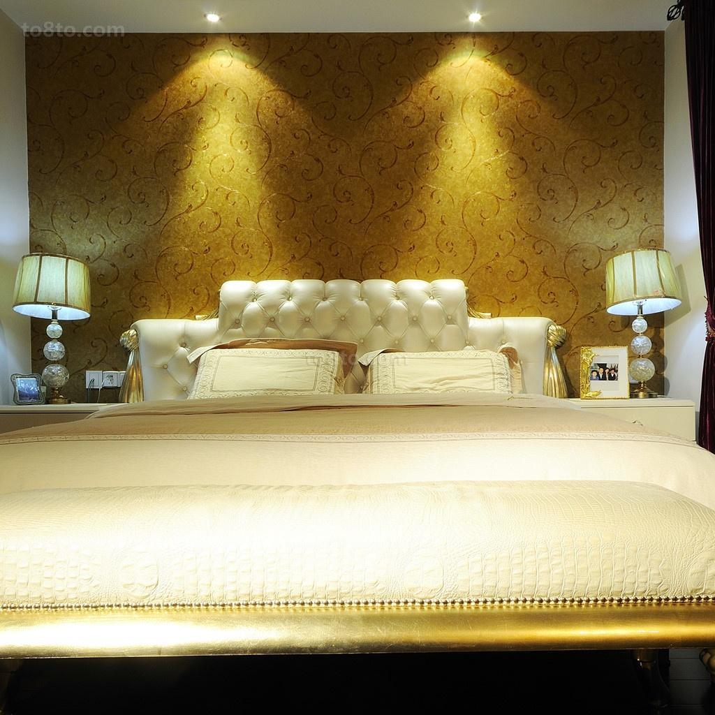 豪华的欧式装修效果图卧室图片