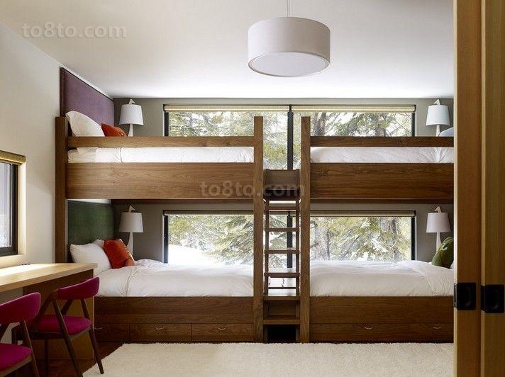 欧式乡村风味的三居室儿童房装修效果图大全2014图片