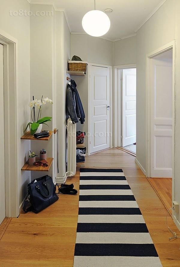 干净明亮的小户型玄关装修效果图大全2014图片