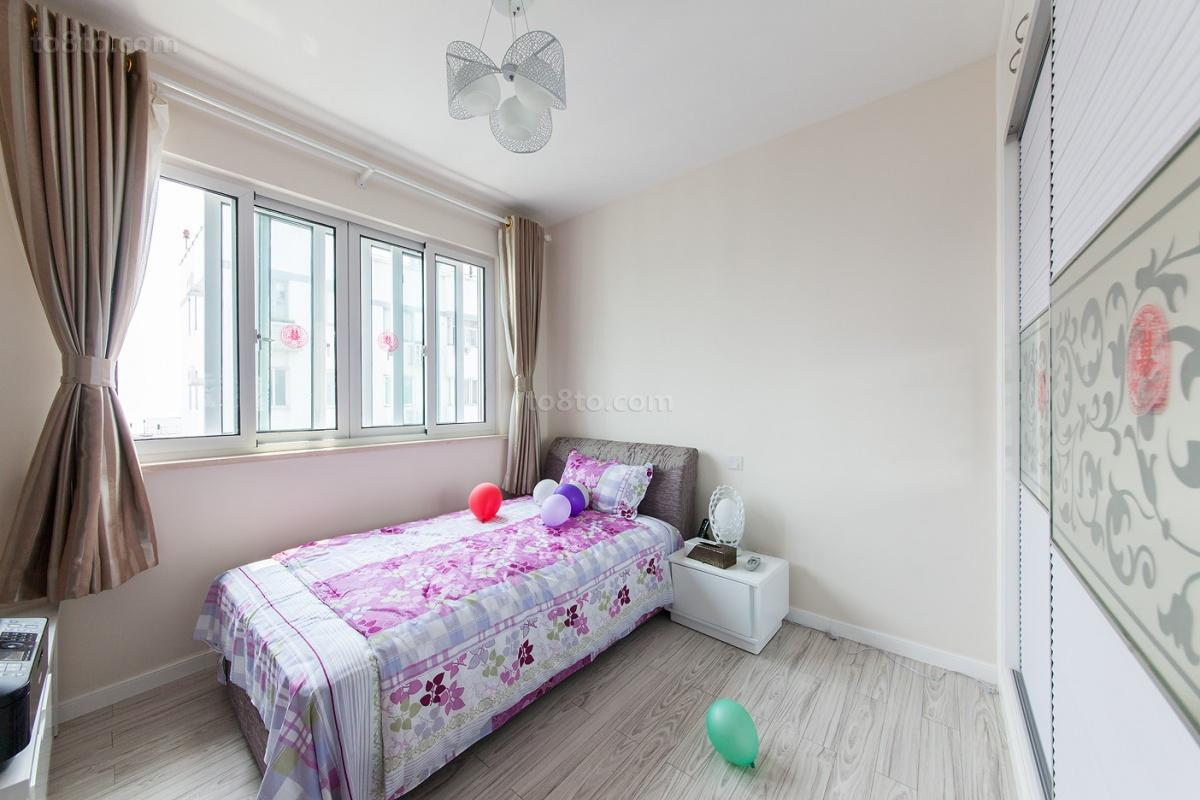 精选面积82平小户型卧室现代装修图片欣赏