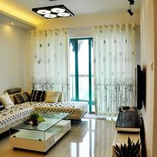 热门95平方三居客厅现代设计效果图
