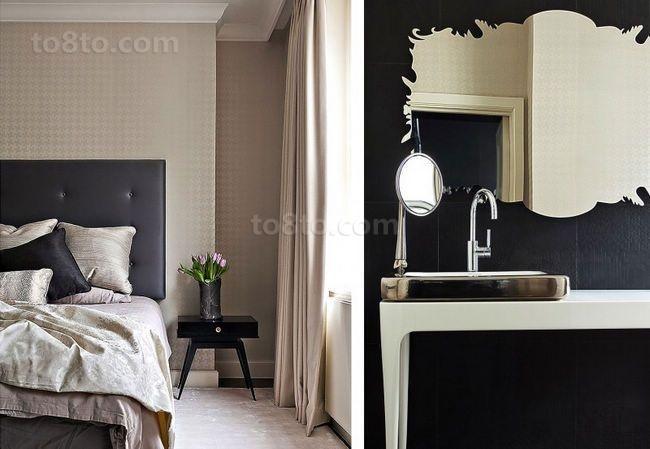75平小户型现代风格卧室装修效果图大全2014图片
