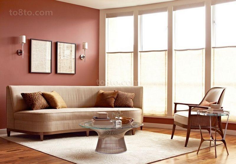 2012现代简约客厅效果图