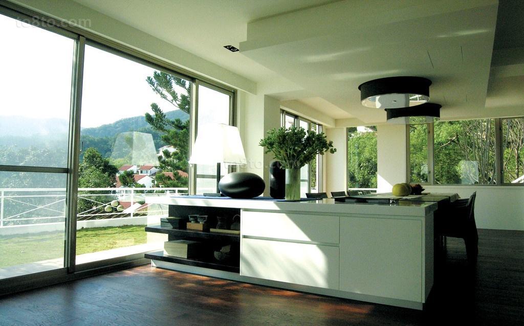 180万装出的简约风格厨房装修效果图大全2014图片