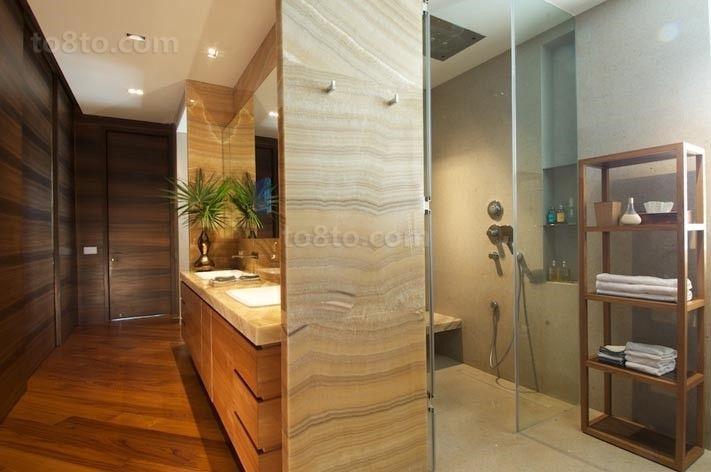 两室一厅美式风格卫生间装修效果图大全2012图片