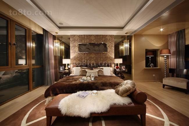 三房两厅美式风格卧室装修效果图大全2014图片