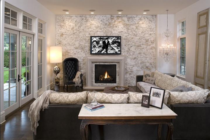 精美绝伦的欧式风格客厅装修效果图大全