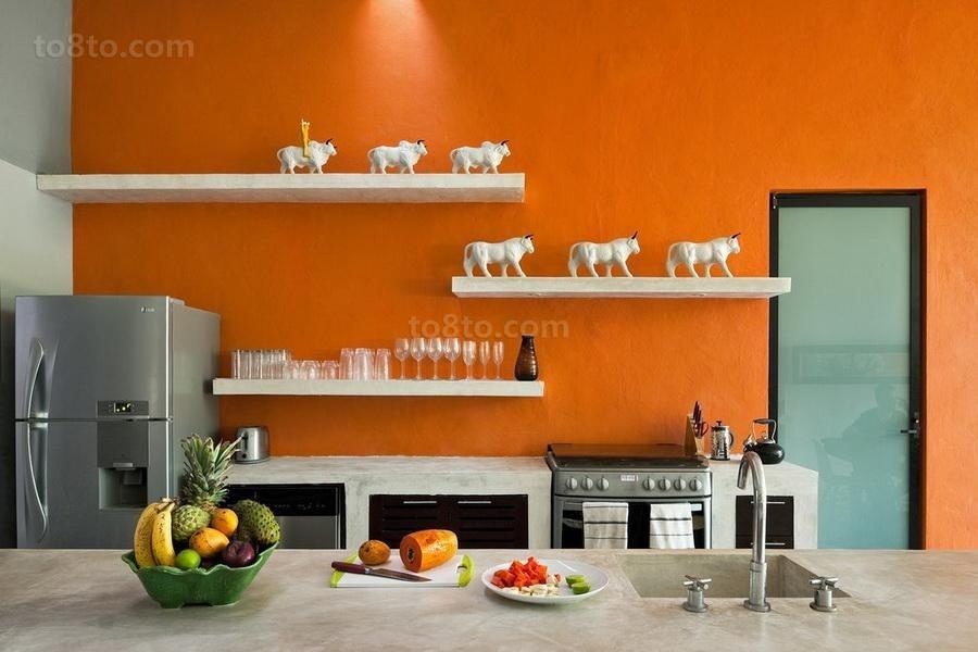 经典奢华的现代美式风格整体橱柜效果图