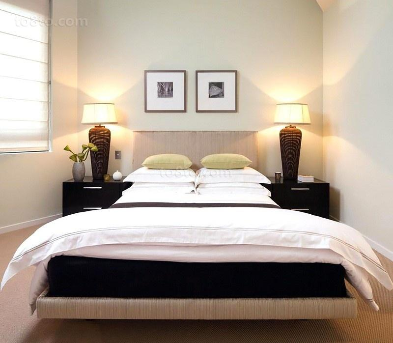 原木元素的海景房现代风格装修卧室图片