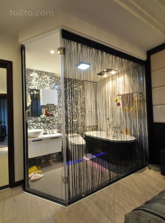 两室一厅卫生间装修效果图大全2012图片