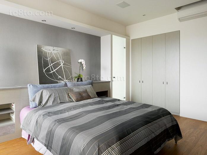 淡雅宜人的小户型卧室装修效果图大全2014图片