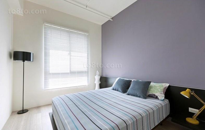 简约的跳线让你的卧室更加的感觉整洁
