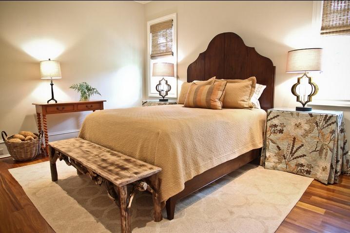 温暖温馨的现代风格卧室装修效果图