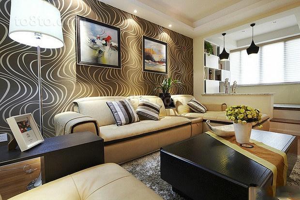 小户型家装现代风格客厅装修效果图