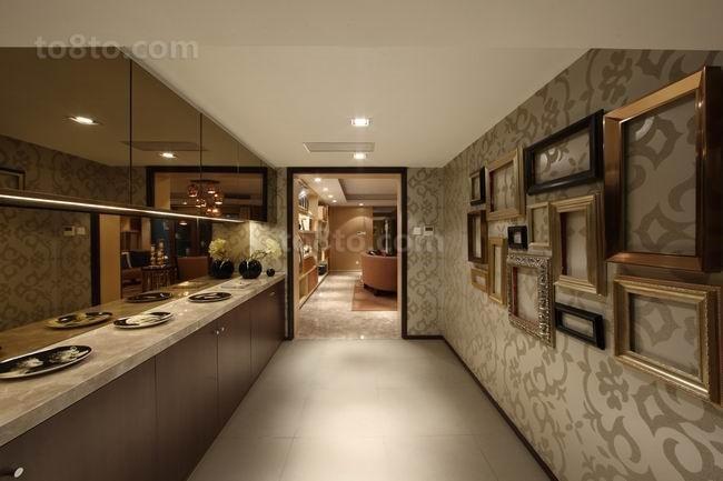四居室室内厨房装修效果图大全2014图片