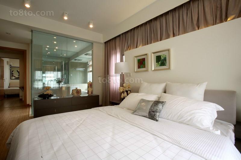 90平米小户型室内卧室装修效果图大全2014图片