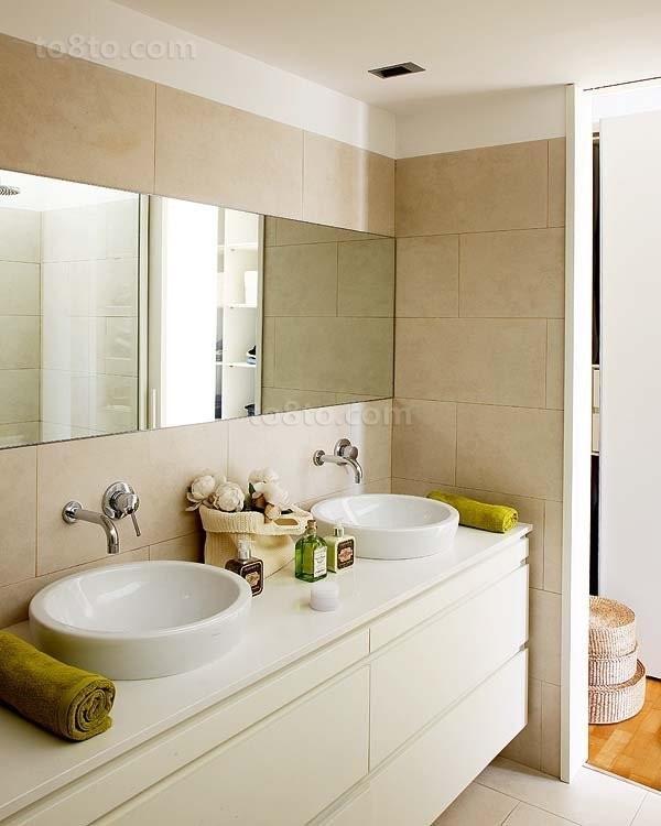 小户型绿色清新的卫生间装修效果图大全2012图片