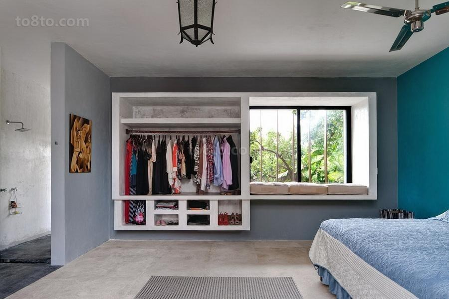 浪漫温馨地中海风格装修卧室效果图