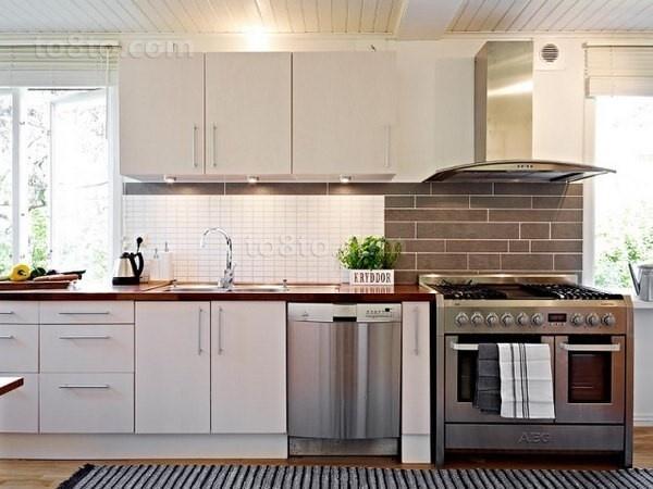 78㎡小户型干净整洁的厨房装修效果图大全2014图片