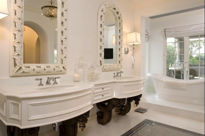 精美绝伦的欧式风格卫生间装修效果图大全