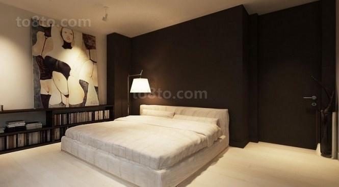 89平小户型装修效果图 淡雅复古风情的卧室