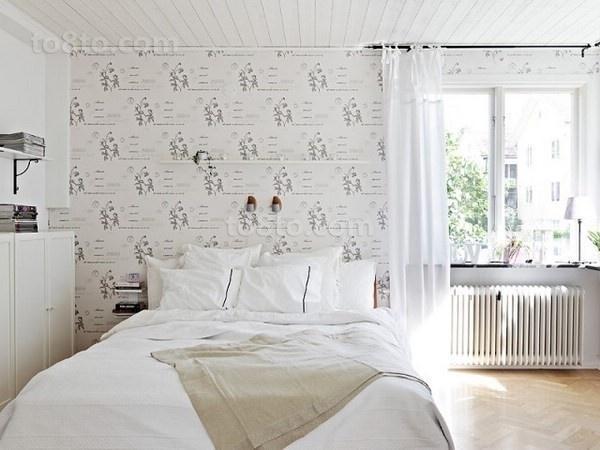 78㎡小户型简约自然的小卧室装修效果图大全2014图片