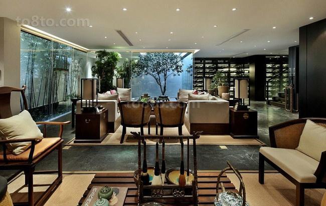 奢华中式装修效果图客厅图片