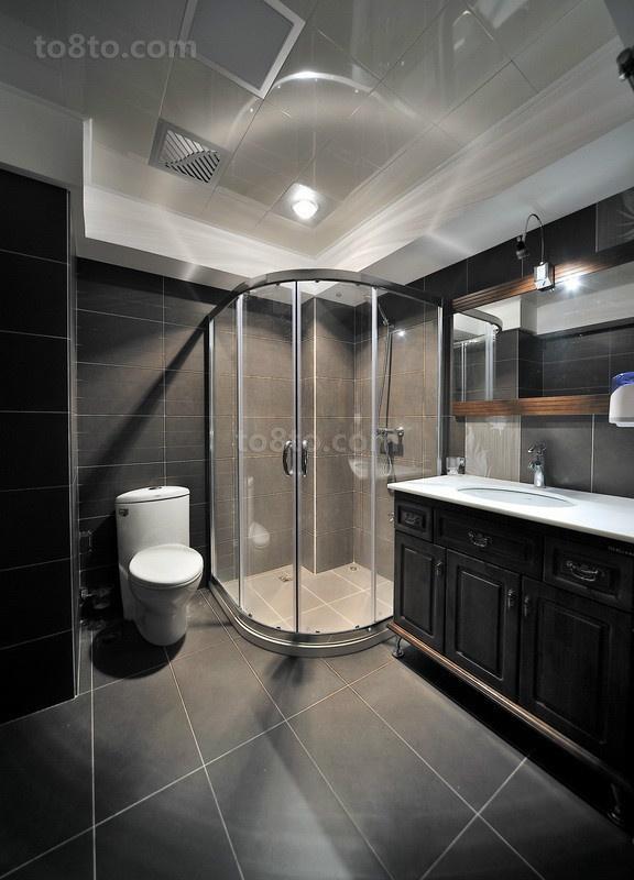 古典欧式装修效果图卫生间图片