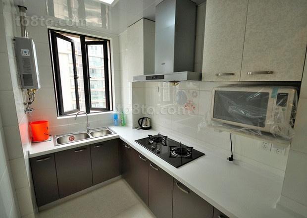 89平米简约小户型厨房装修效果图大全2014图片