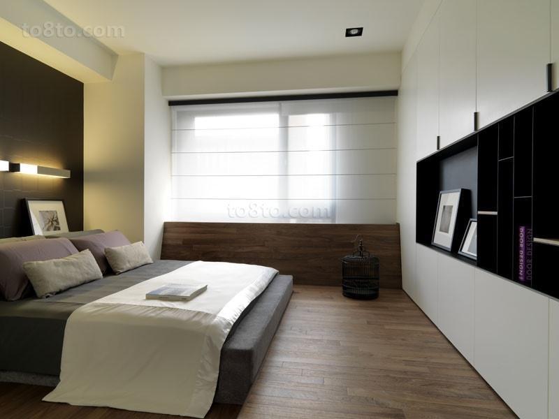 三室两厅主卧室装修效果图大全2014图片