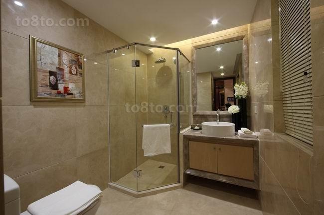 三房两厅美式风格卫生间装修效果图大全2014图片