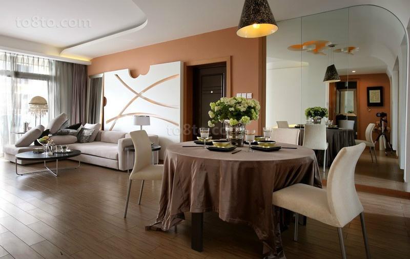 90平米小户型室内装修效果图大全2014图片