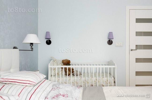小户型色彩活力的儿童房装修效果图大全2014图片