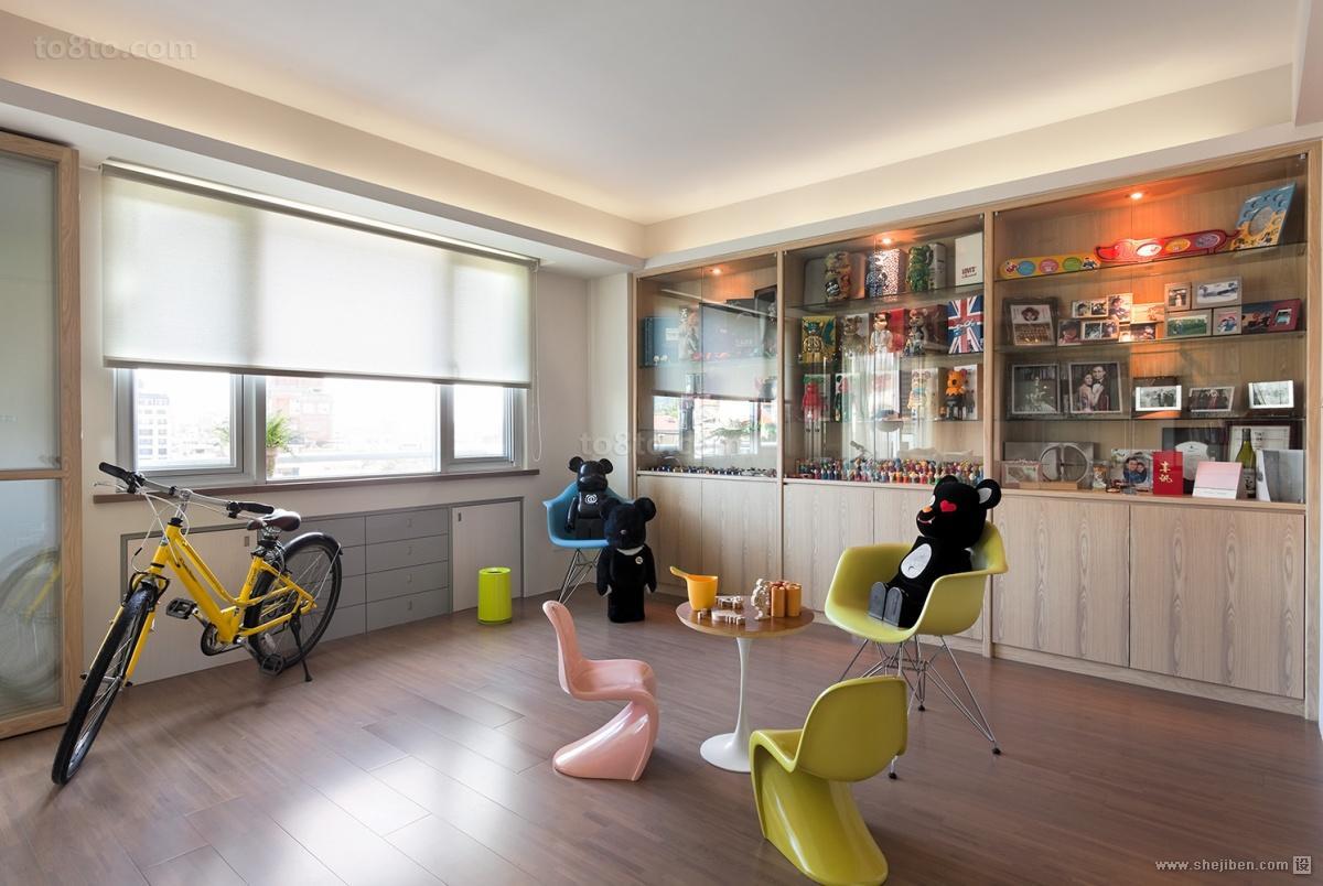 台北华景园室内儿童房装修效果图大全2014图片
