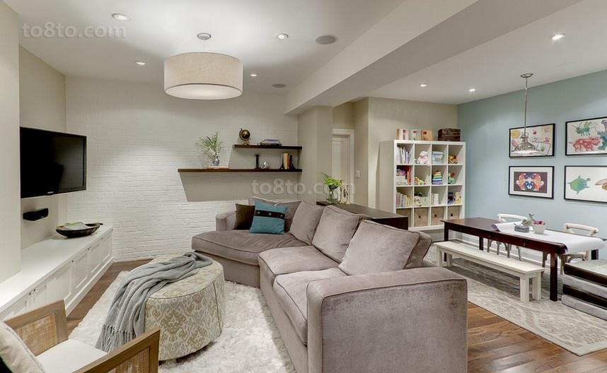 深深的感受温馨浪漫的简约风格装修客厅图片