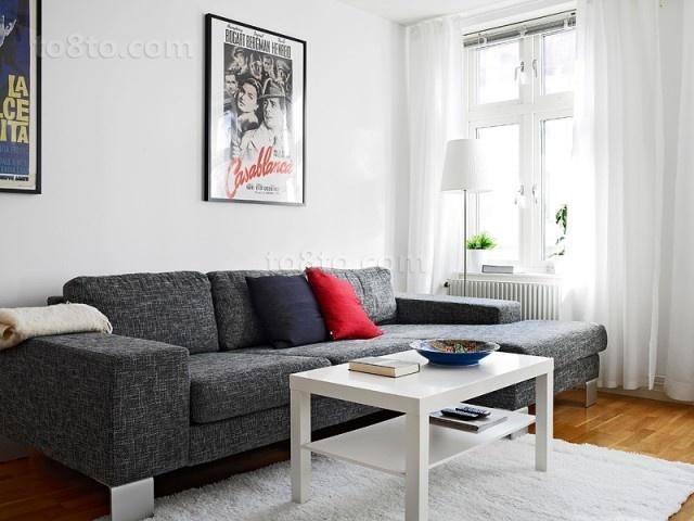 50平米小户型客厅沙发装修效果图欣赏